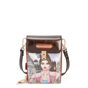 NICOLE LEE WELLCOME TO SPAIN  CROSSBODY WALLET HP13000-WTS - CompuBoutique - Miami Florida