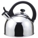 MAGEFESA Sabal 2 Qts. Stainless Steel Stovetop Tea Kettle with Whistle in Stainless NUBIA - CompuBoutique - Miami Florida