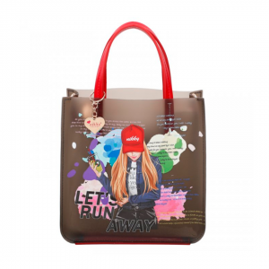 NICOLE LEE KIMBERLY FALLS IN LOVE CHLOE JELLY MINI BAG NK11045-KFL - CompuBoutique - Miami Florida