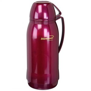 Brentwood Plastic Coffee Thermos 0.68, 1 And 1.8L In Assorted Colors - CompuBoutique - Miami Florida