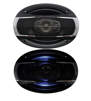 Nippon Audio Drift DS-A6993LE  6 X 9  3 WAY  WITH LED - CompuBoutique - Miami Florida
