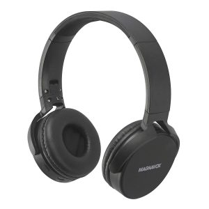 Magnavox Foldable Headphones with Microphone, Surround Sound, In Black Color MHP5026 - CompuBoutique - Miami Florida