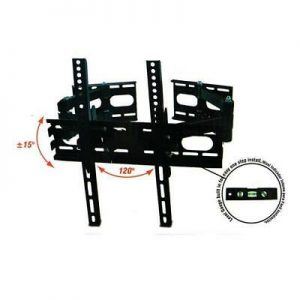 Nippon Articulated TV LCD/LED Corner Mount Flat Panel TV 25'' to 60'' MTE-2560CR - CompuBoutique - Miami Florida