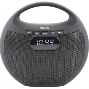 QFX Bluetooth Alarm Clock Radio with USB/Micro SD Slot  BT-53 - CompuBoutique - Miami Florida