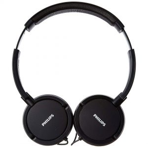 Philips On Ear Headphone with Deep Bass In Black SHL5000 - CompuBoutique - Miami Florida