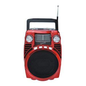 Supersonic Bluetooth Portable 4-Band Radio in Blue with USB/SD SC-1390BT - CompuBoutique - Miami Florida