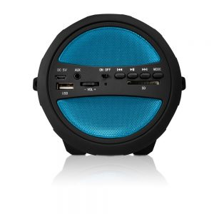 AXESS Thunder Sonic Indoor/Outdoor HI-FI Bluetooth Speaker SPBT1041 - CompuBoutique - Miami Florida