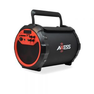 AXESS Portable Indoor/Outdoor Bluetooth Hi-Fi  Speaker with 6-Inch Subwoofer SPBT1036 - CompuBoutique - Miami Florida